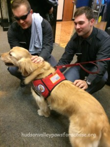 Our Therapy Dogs at the January 2016 Blood Drive