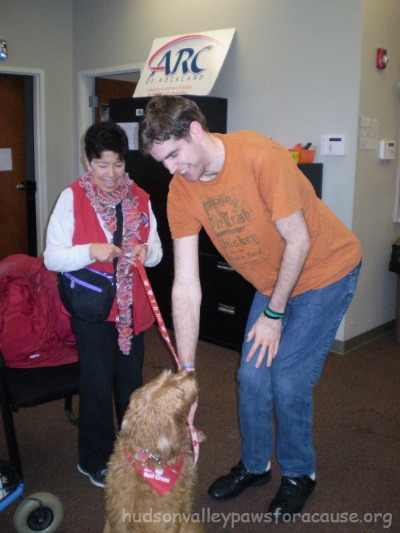 OUR THERAPY DOGS CELEBRATE MARTIN LUTHER KING JR DAY 2016 AT ARC IN CONGERS NEW YORK
