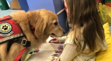CHILDREN LOVE TO READ TO OUR DOGS