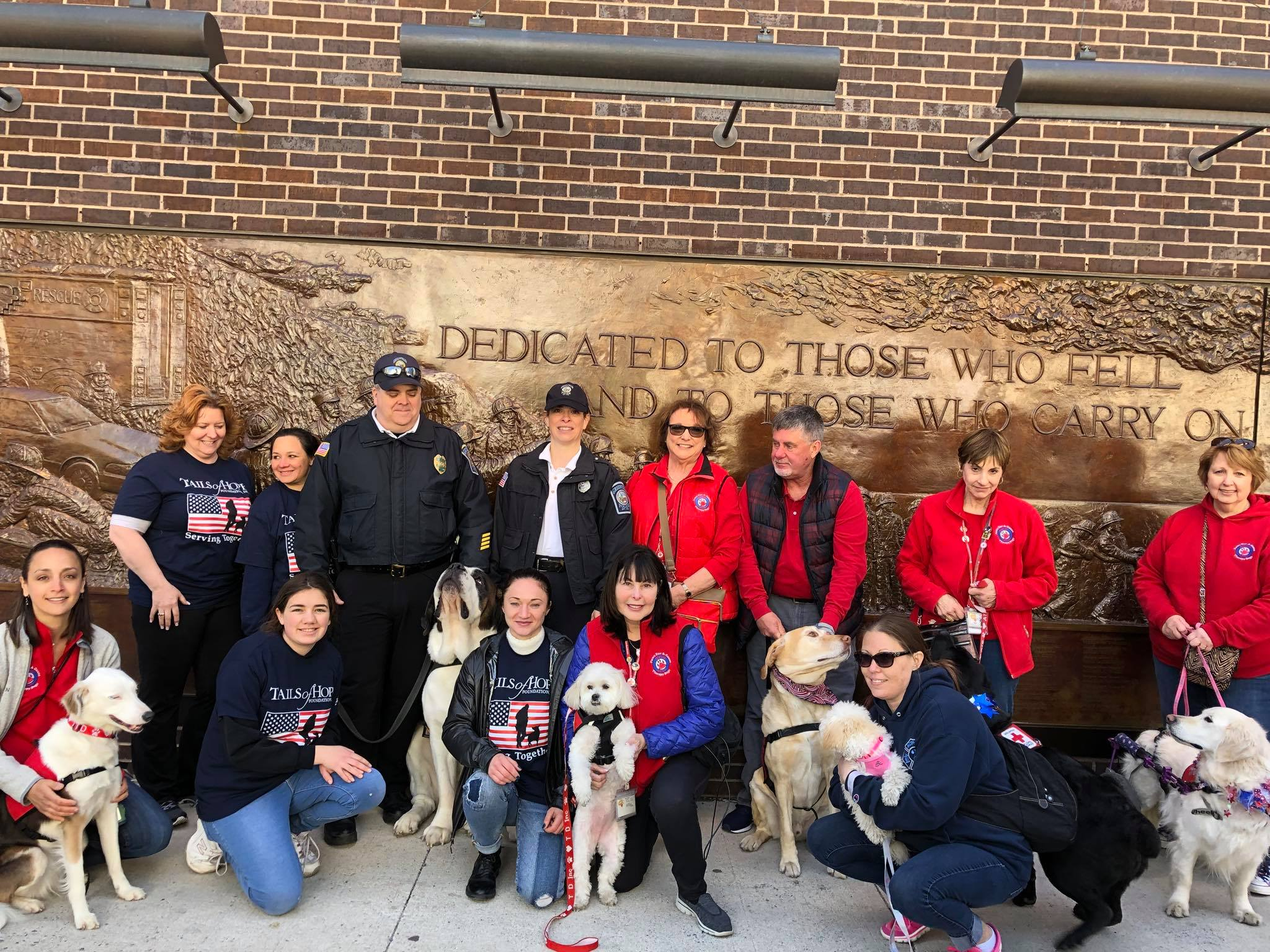 Our Teams Support 911 Memorial Family Day