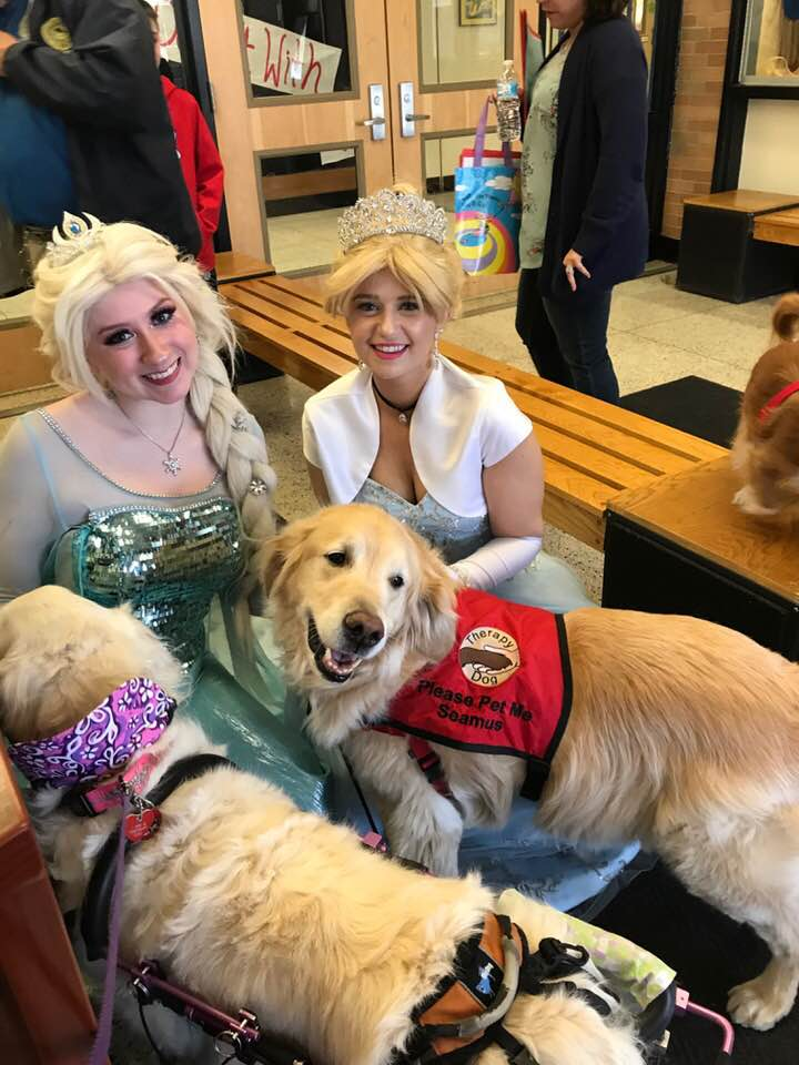 National Book Day & Read Across America with Seamus & Ivy Grace