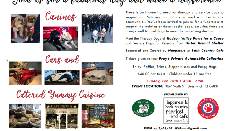 Hudson Valley Paws for a Cause  Fundraiser!!